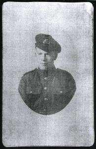 Private Arthur McArdle Born 1898 Died 1918