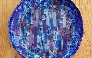 Bowl 3 – Blue Mood – inside