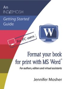 Format your book for print with MS Word(R)