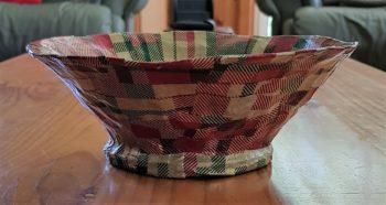 Tartan Around Mini-Bowl - side view - 1