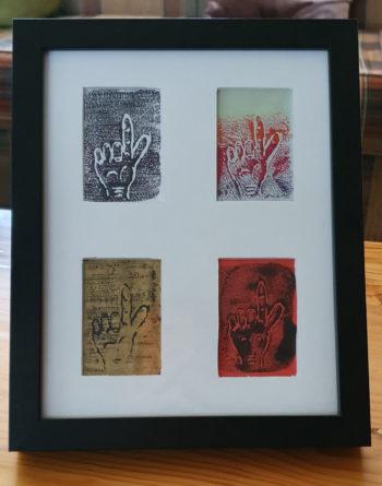 Dos por favor set of 4 prints (c) Jennifer Mosher