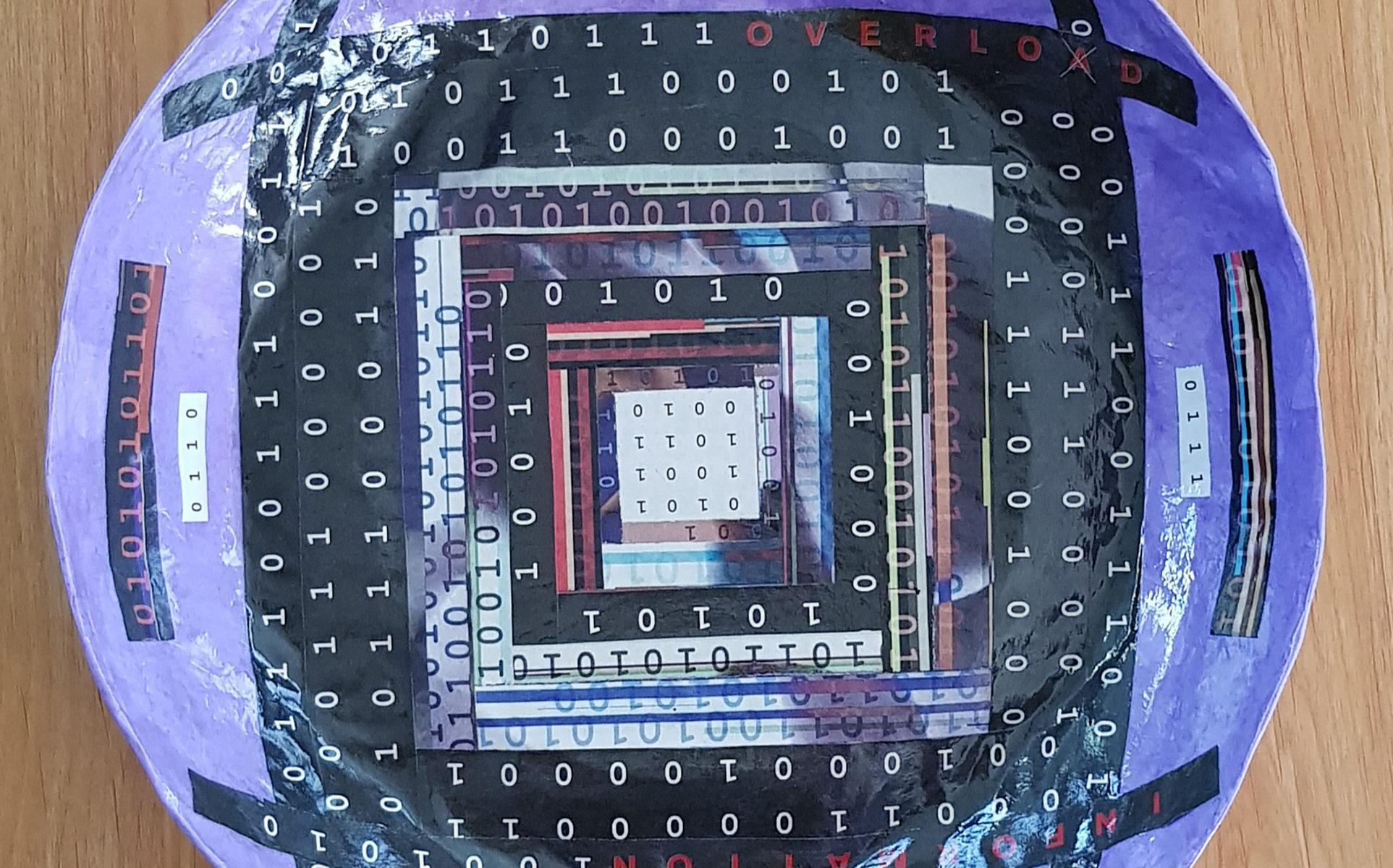 Bowl 15 - Information Overload - inside