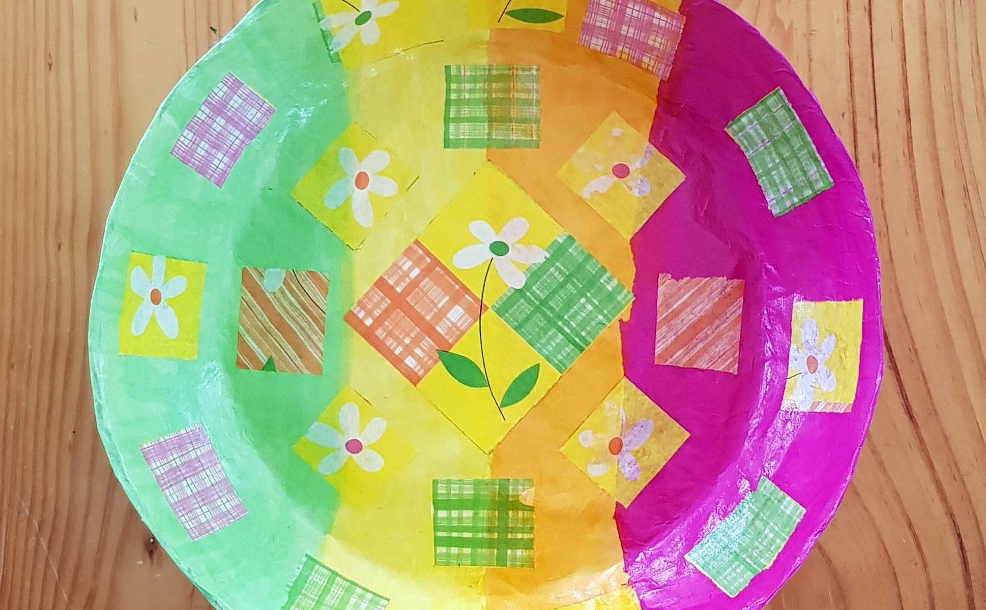 Bowl 7 - Spring Flowers - inside - 1