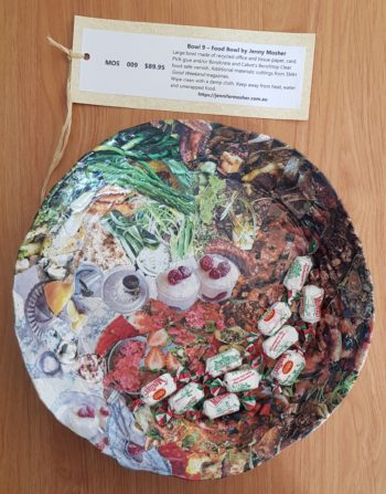 Bowl 9 - Food Bowl - inside - scale view