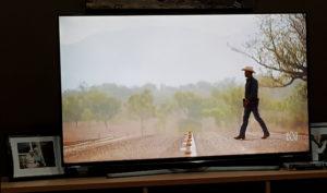 Aaron Pedersen in Mystery Road on my TV