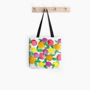 Oranges and Lemons - Redbubble tote bag