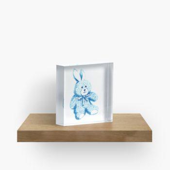 Blue Bear - Redbubble Acrylic Block