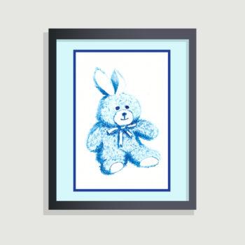 Blue Bear - framing suggestion