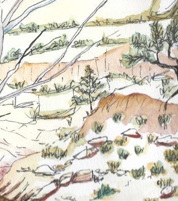 Central Australia IV - crop 2 (c) Jennifer Mosher