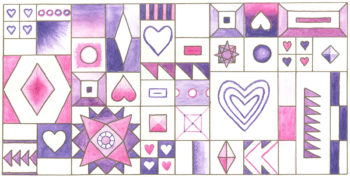 Hearts and Diamonds Sampler
