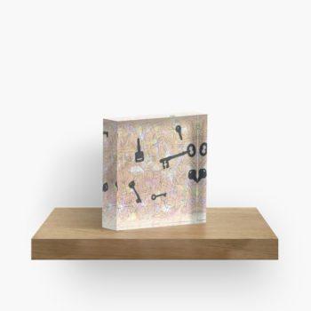 Keys - Redbubble Acrylic Block
