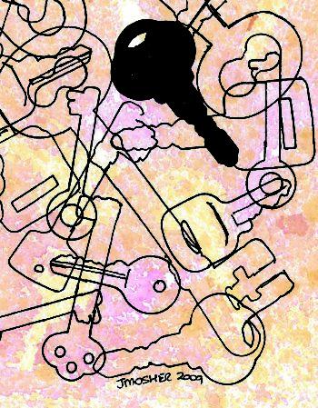 Keys - crop 1 (c) Jennifer Mosher