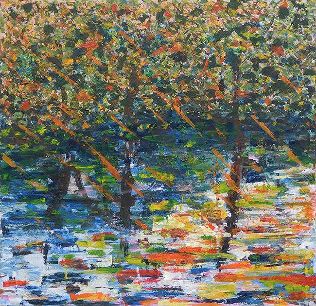 Mangrove Afternoon - acrylic (c) Jennifer Mosher
