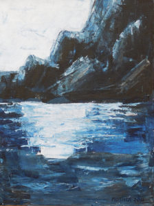 Merced River Morn - acrylic (c) Jennifer Mosher (NFS)