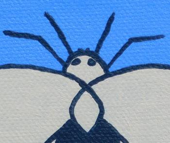 Moth in Blue - crop 1 (c) Jennifer Mosher