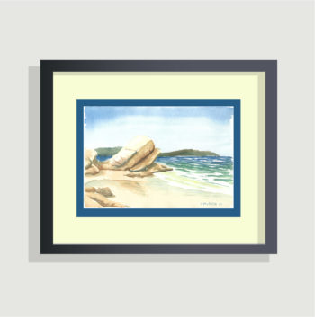 On the Beach - framing suggestion