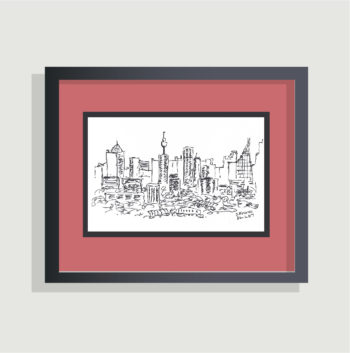Sydney, Australia - sketch - framing suggestion