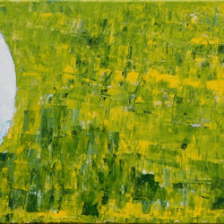 Tee Time - acrylic (c) Jennifer Mosher