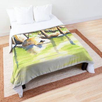 Turon River Sofala - Redbubble Comforter