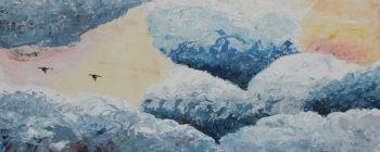 Homeward Bound - acrylic (c) Jennifer Mosher