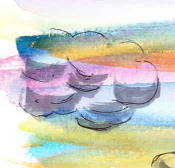 Rainbow Clouds - crop 1 (c) Jennifer Mosher