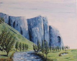 Sheer - acrylic on canvas (c) Jennifer Mosher (NFS)
