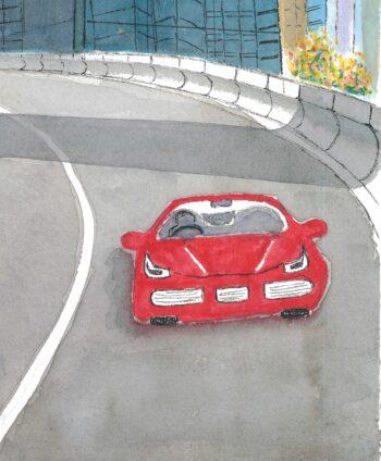 Little Red ... Car - crop 2 (c) Jennifer Mosher