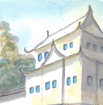 Nijo-jo Castle, Kyoto - crop 3 (c) Jennifer Mosher