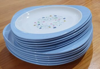 Copeland Spode Wayside dinner plates and side plates 2