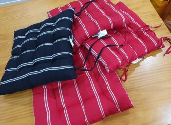 Dining suite - seat cushions