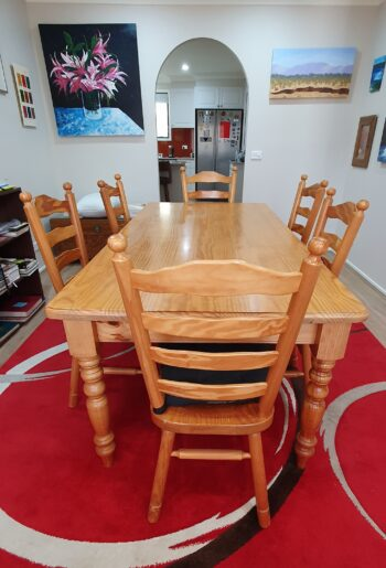 Dining suite - long view