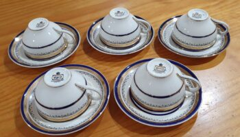 Myotts Royal Crown cups and saucers 3