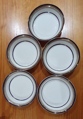 Myotts Royal Crown dessert bowls