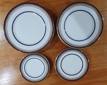 Myotts Royal Crown plates - 1