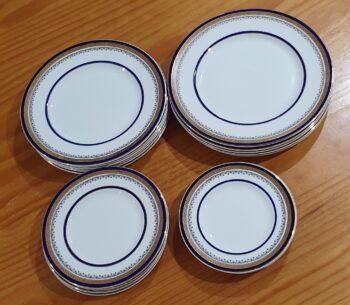 Myotts Royal Crown plates - 2