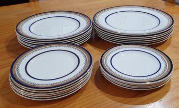Myotts Royal Crown plates - 3