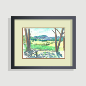 Megalong Valley from Dry Ridge Estate - (c) Jennifer Mosher - framing suggestion
