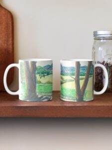Megalong Valley from Dry Ridge Estate 73275822-classic-mug