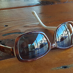 Sunglasses on table - small (c) Jennifer Mosher