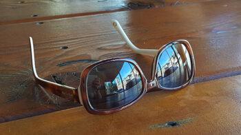 Sunglasses on table - small (c) Jennifer Mosher